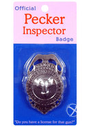 Pecker Inspector Badge