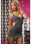 Untamed- Seamless Dress -blk (disc)