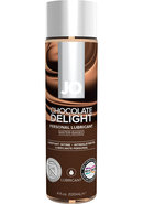 Jo H2o Flavored Water Based Lubricant Chocolate Delight 4...