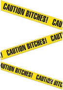 Bachelorette Party Favors Caution Bitches Caution Tape