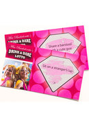 Miss Bachelorettes Drink And Dare Lotto Game 36 Cards
