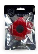 Oxballs Diesel Silicone Cockring Red