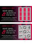 A Deeper Shade Of Reds Whip Bind And Scratch Tickets